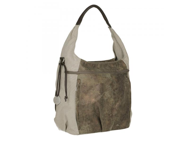 Lässig Casual Hobo Bag olive-beige