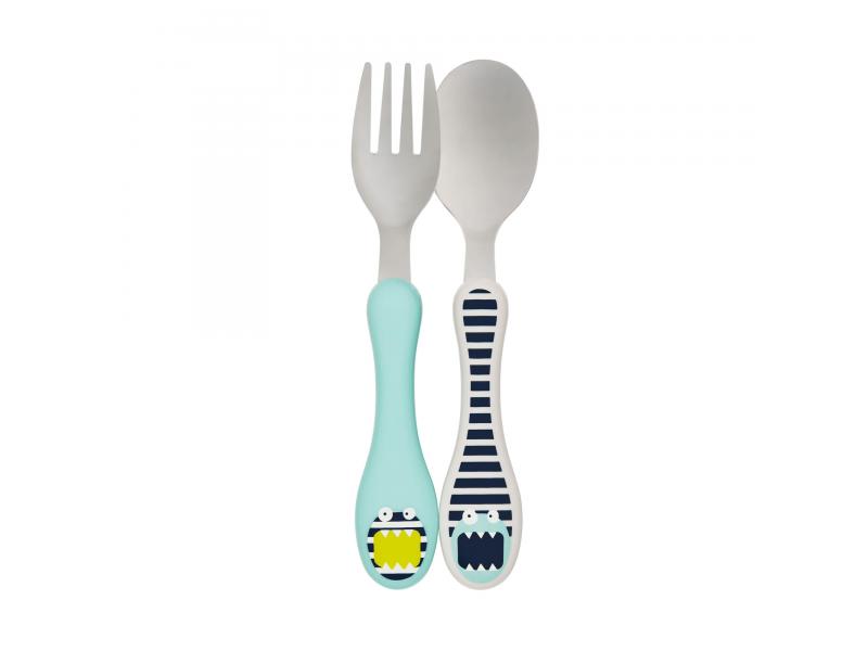 Lässig Cutlery Stainless Steel Little Monsters bouncing bob
