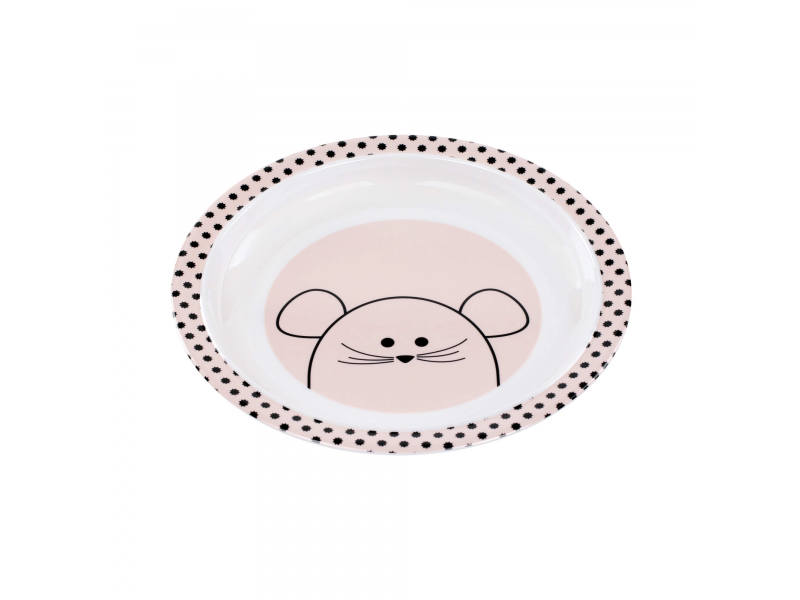 Plate with Silicone Little Chums mouse 1