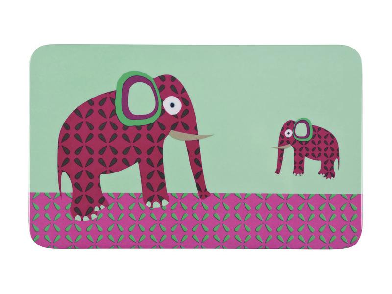 Lässig Breakfast Boards 2017 Wildlife elephant