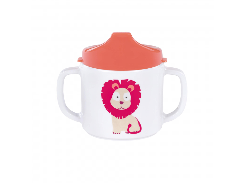 Lässig Cup with Silicone lion