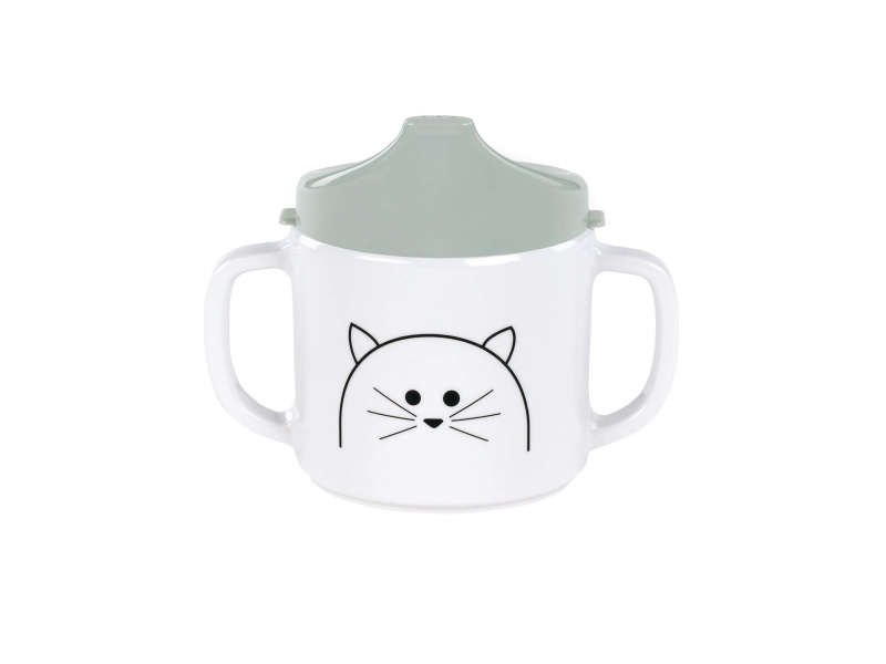 Lässig Cup with Silicone Little Chums cat