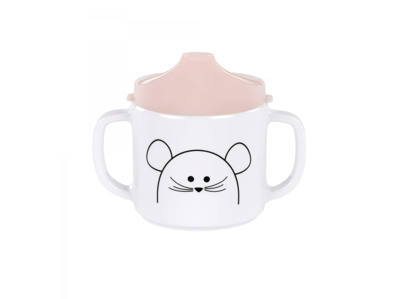 Cup with Silicone Little Chums mouse 1
