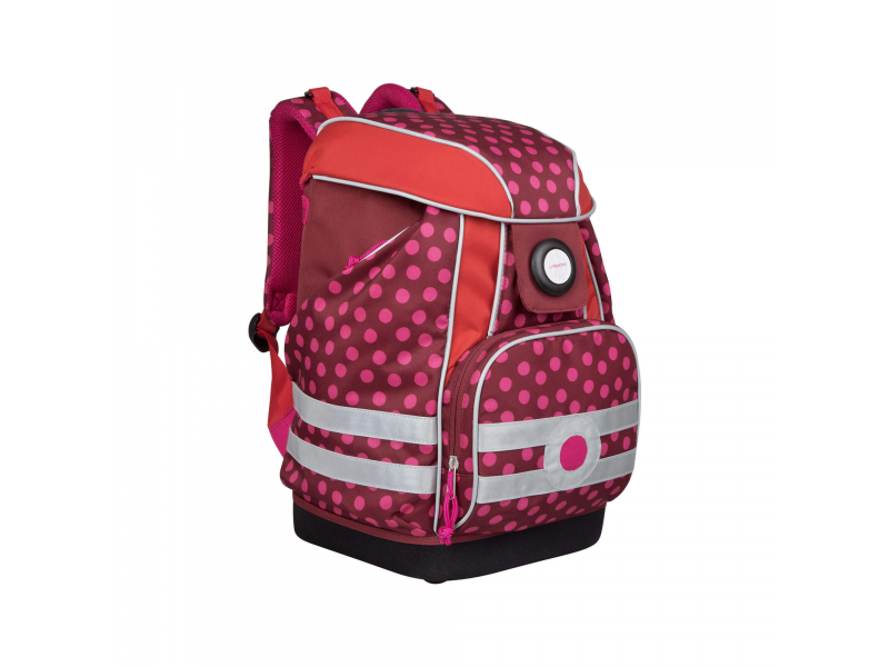 School Bag 2017 Dottie red 1