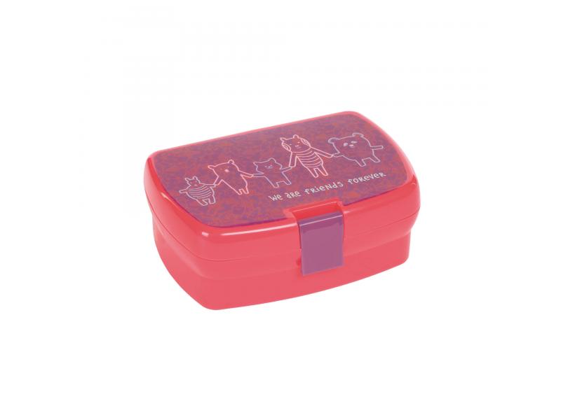 Lässig Lunchbox About Friends pink