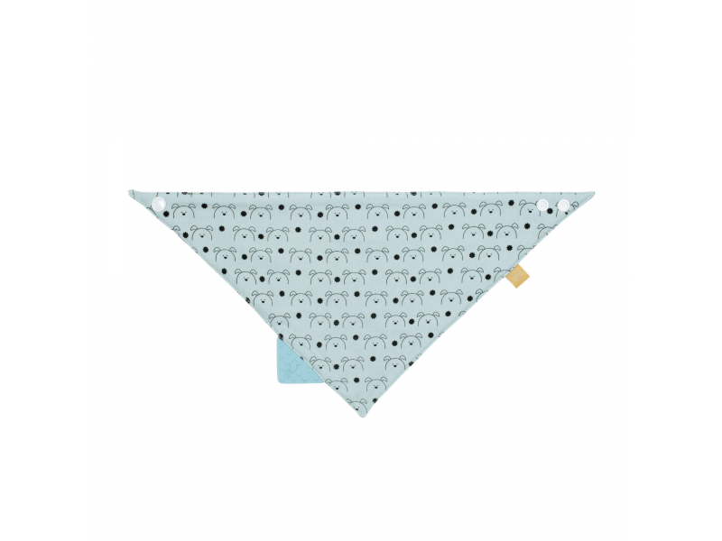 Interlock Bandana with silicone teether Little Chums dog 1