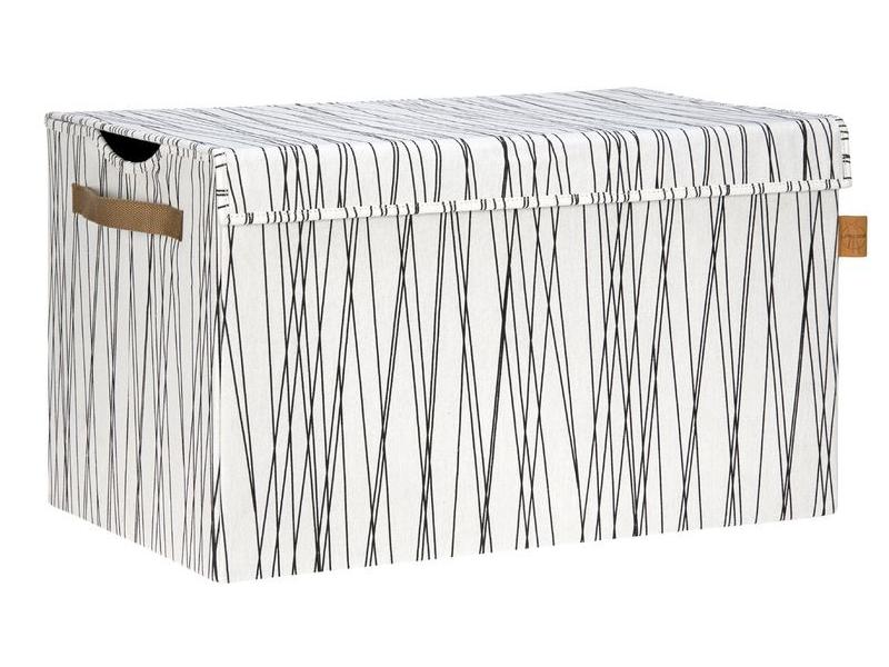 Lässig Box na hračky s víkem Allover Rays