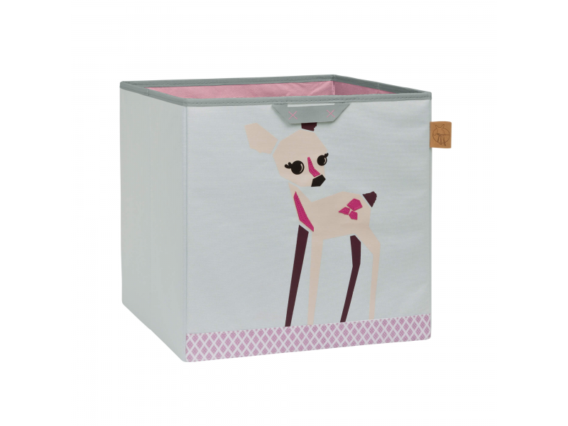 Toy Cube Storage Little Tree fawn 1