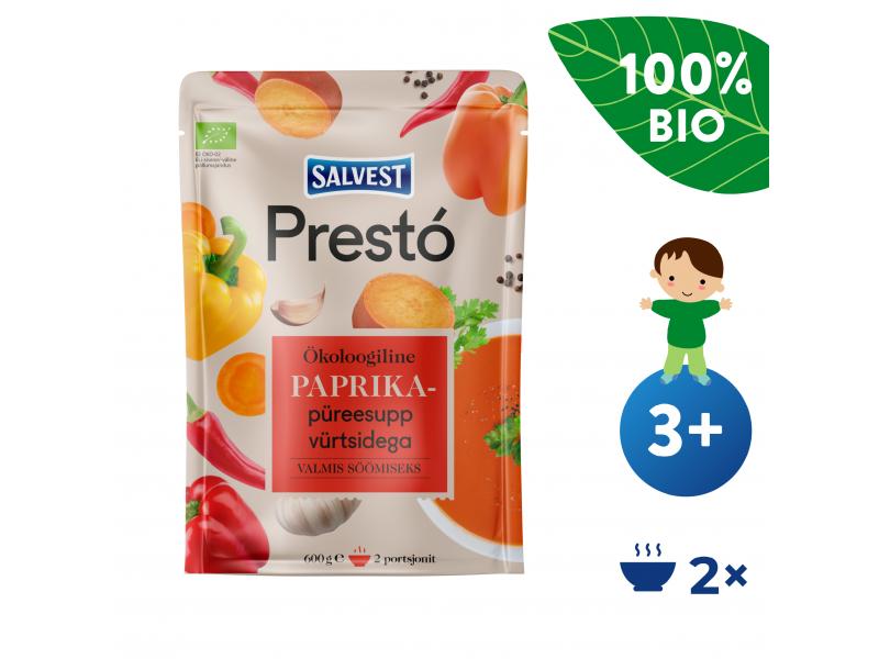 Prestó BIO Polévka z čerstvých paprik, bylinek a koření (600 g) 1
