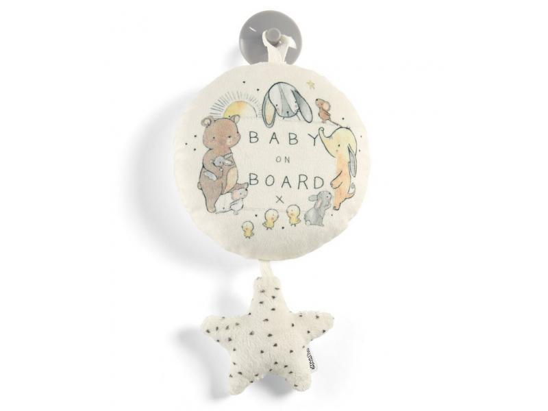 Hvězdička do auta Baby on Board 1