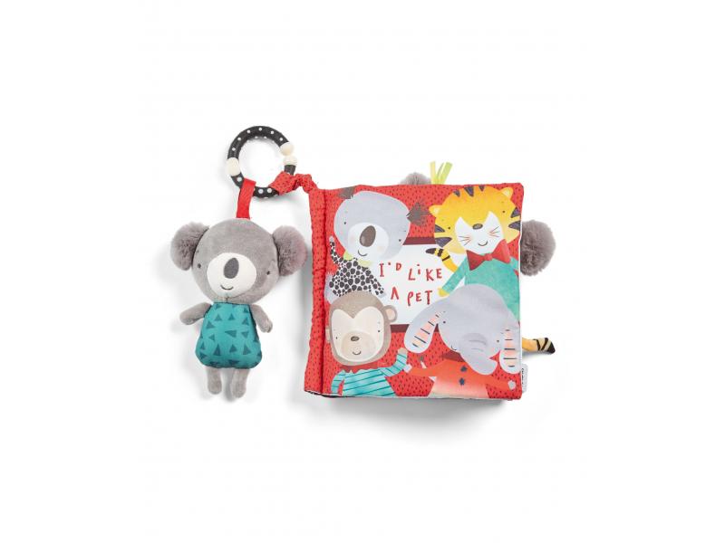 Textilní knížka s aktivitami koala Koko 1
