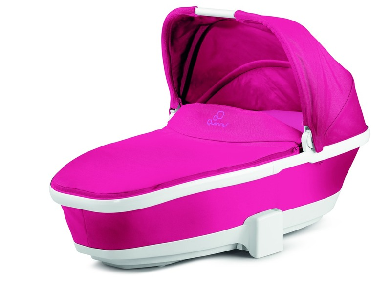 Quinny Foldable carrycot_Pink passion