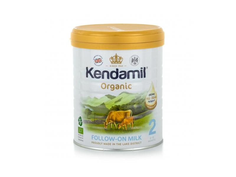 KENDAMIL BIO - organické plnotučné pokračovací mléko 2 (800g) DHA+ 1