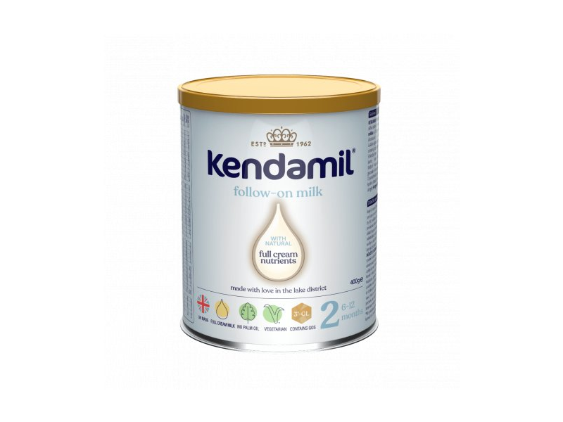 KENDAMIL Pokračovací mléko 2 (400g) DHA+ 1