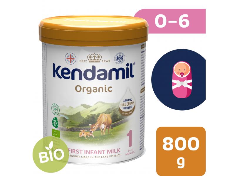 Kendal Nutricare KENDAMIL BIO Nature počáteční mléko 1 (800 g) DHA+
