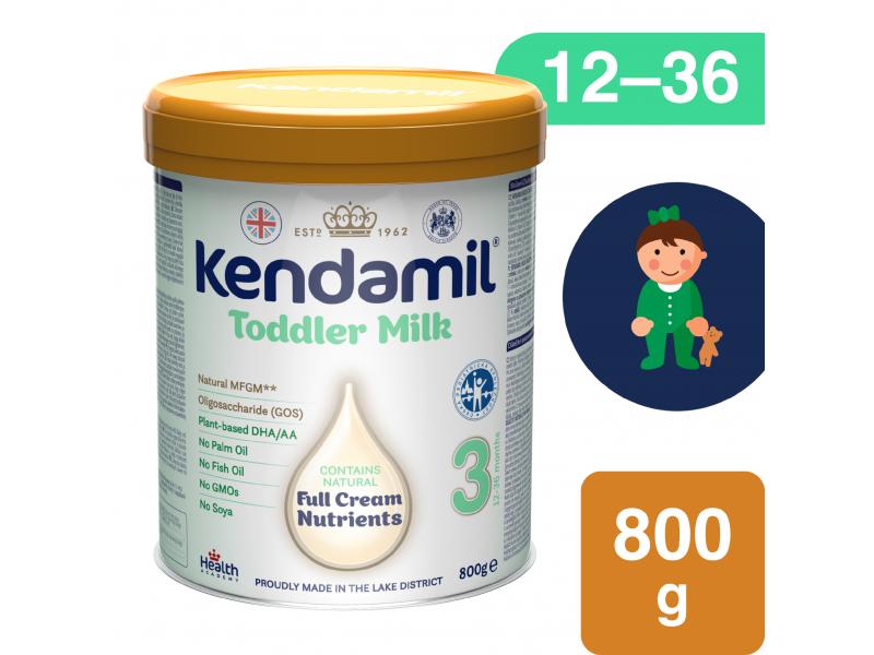 KENDAMIL batolecí mléko 3 (800 g) DHA+ 1