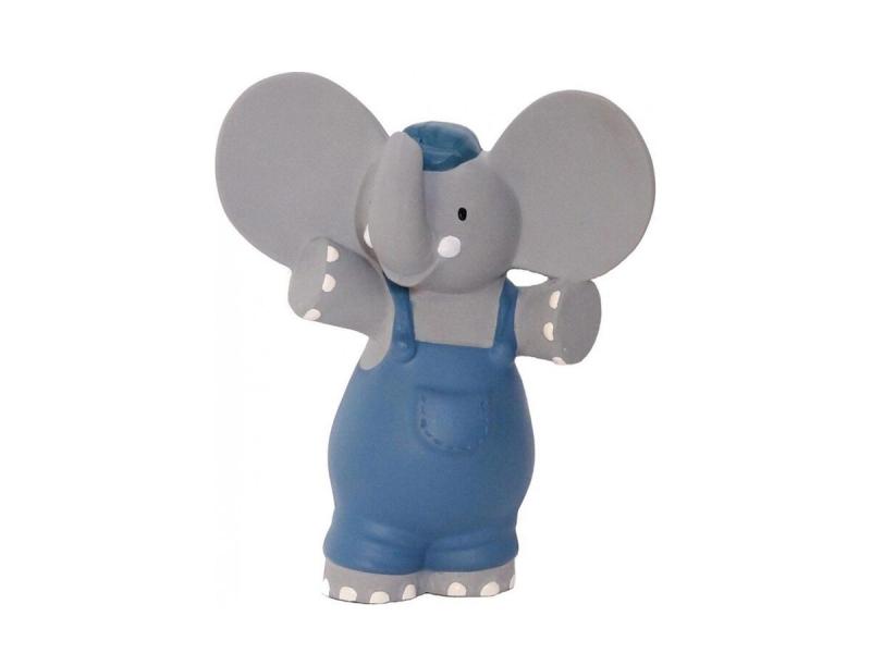 Meiya&Alvin Pískátko / kousátko slon Alvin (100% přírodní kaučuk) 16cm