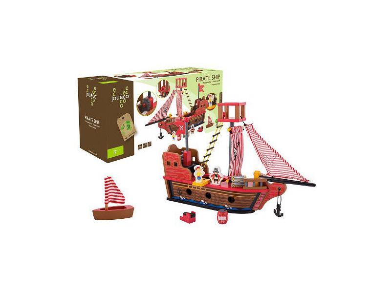 Dřevěná pirátská loď 36m+ 1