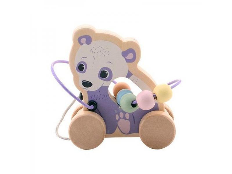 the Wildies Family dřevěná hračka s labyrintem Bear 12m+ 1
