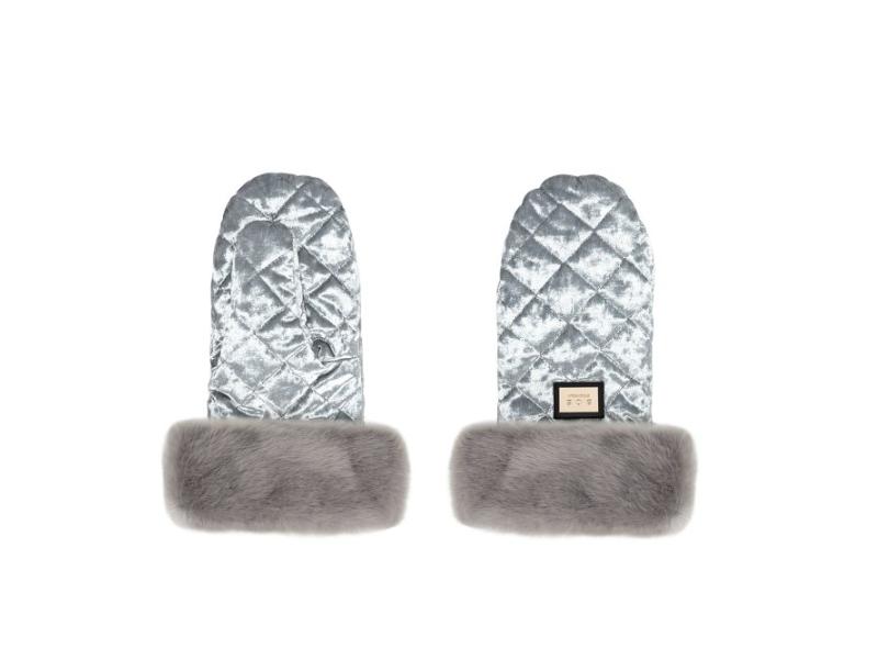 Rukavice Velvet Grey 1