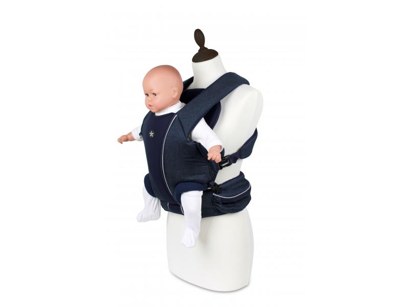 Angelcare Mykko Baby Front Carrier klokanka džínová modrá