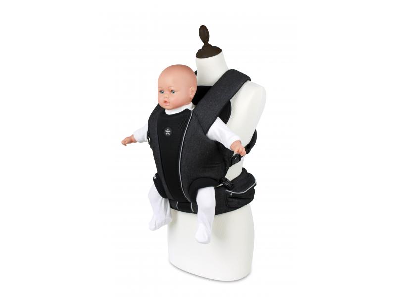 Angelcare Mykko Baby Front Carrier klokanka džínová černá