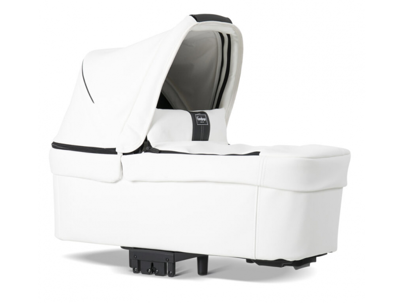 NXT Carrycot 2020 leatherette white 30009 1