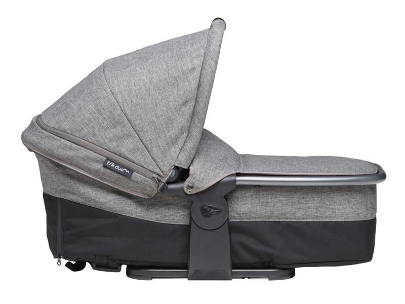 Carrycot Duo combi prem. grey 1