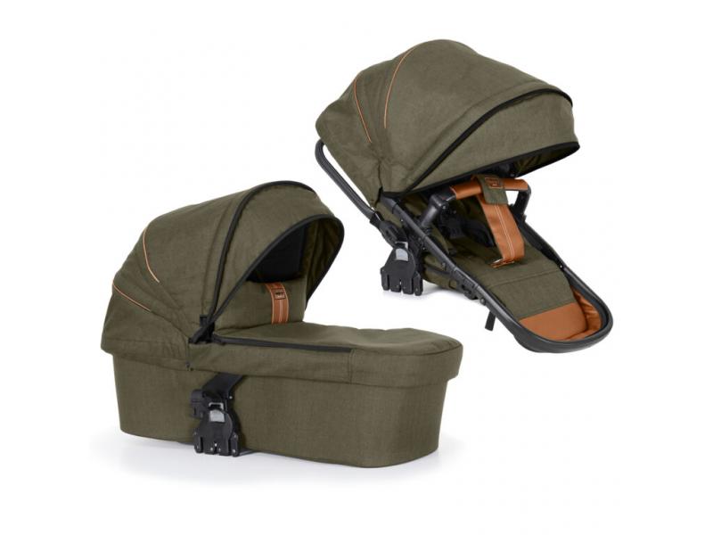 NXT 2in1 combi prambody/seat outdoor olive 37106 1