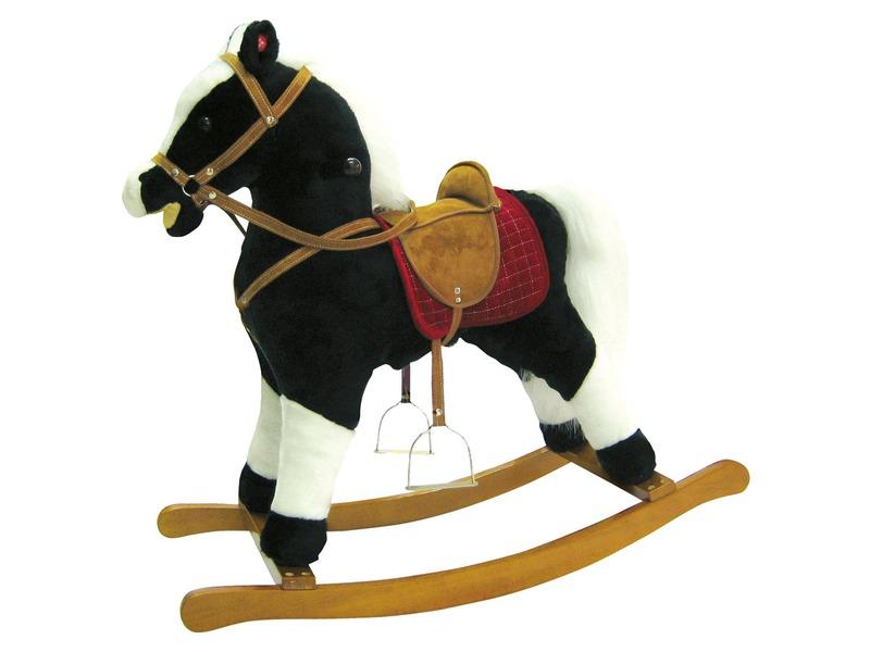 Bino Vraník-h.kůň,plyš,p+z,středn