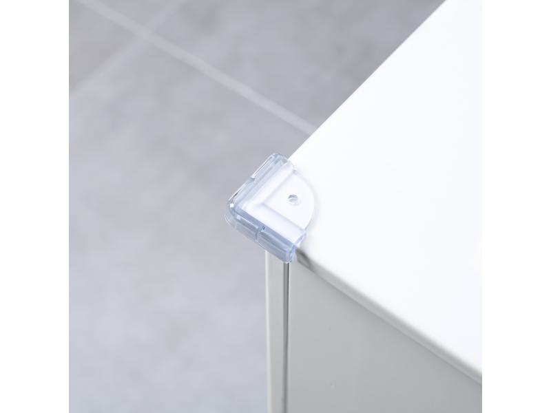 Zopa Plastová ochrana rohů 4ks, transparent