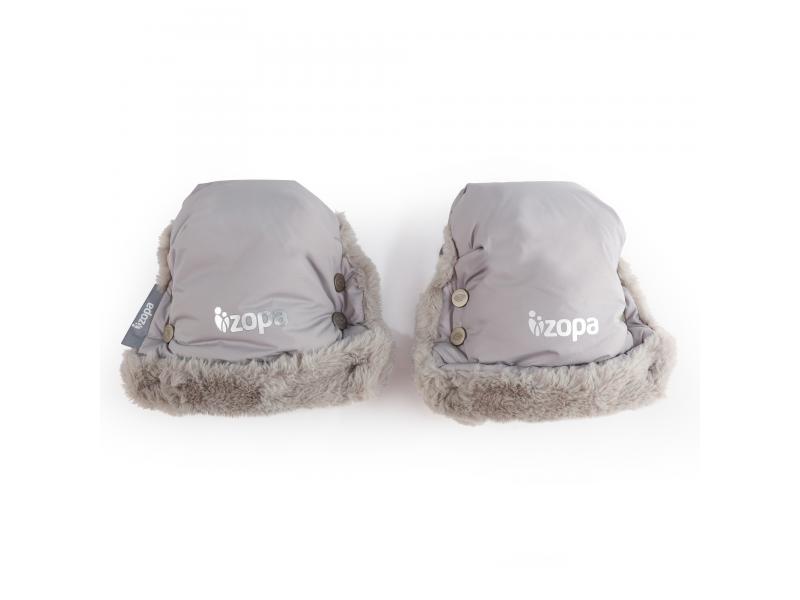 Zimní rukavice Fluffy, Foggy Grey 1