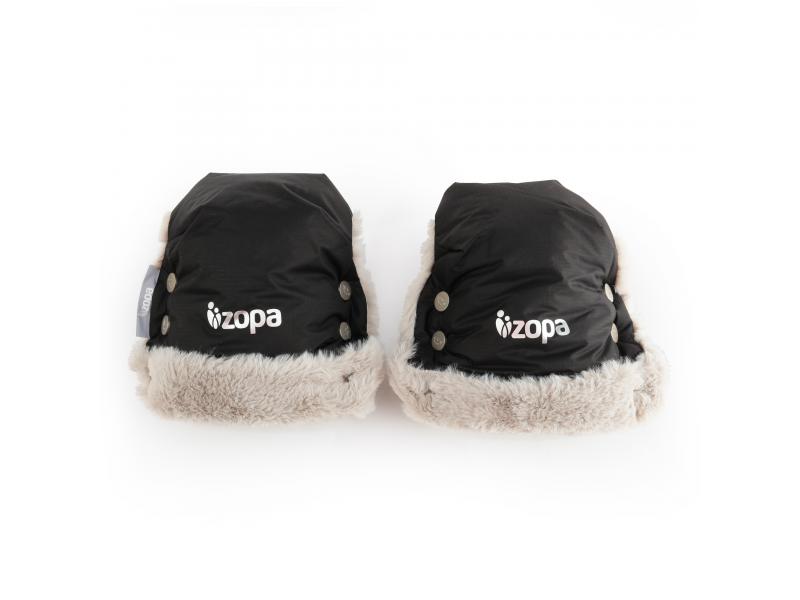 Zimní rukavice Fluffy, Night Black 1