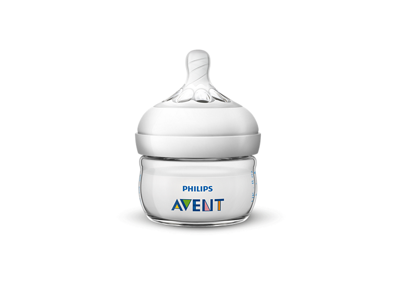 Philips AVENT Láhev Natural 60 ml, 1 ks