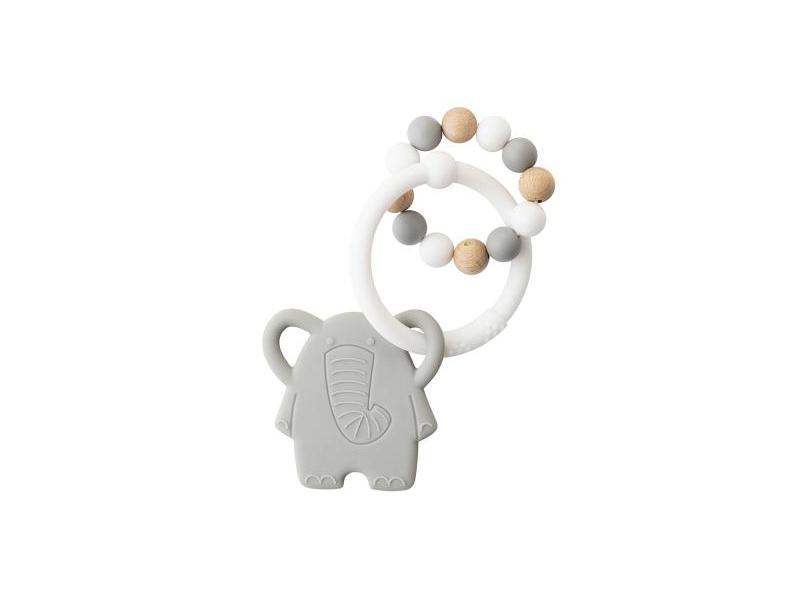 Nattou Kousátko silikonové Lapidou sloník