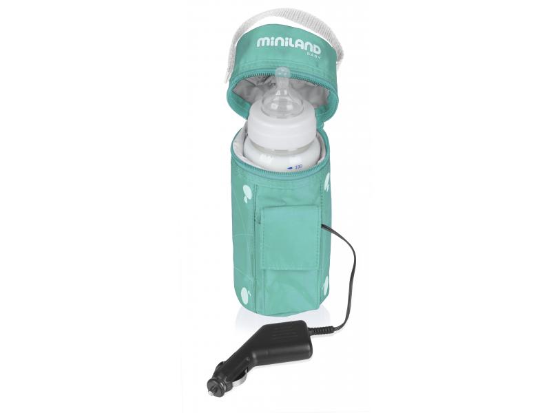 MiniLand Ohřívačka kojeneckých lahví do auta Warmy Travel
