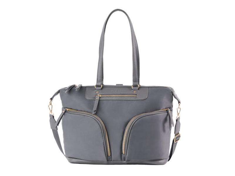 Přebalovací taška na kočárek a batoh 2v1 LUNA, grey 1