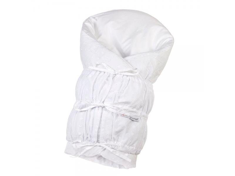Zavinovačka šněrovací pevná záda ANGEL - Outlast® 77x77cm bílá,madeira 1