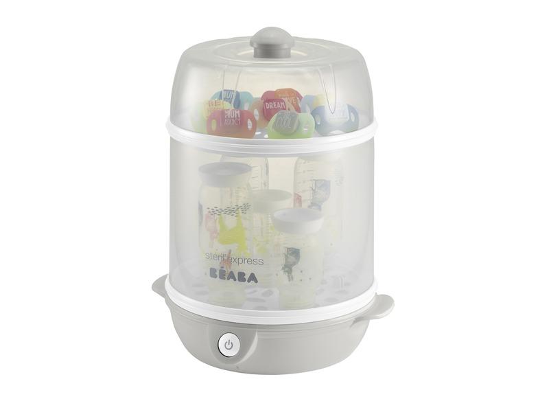 Beaba Elektrický sterilizátor Express šedý