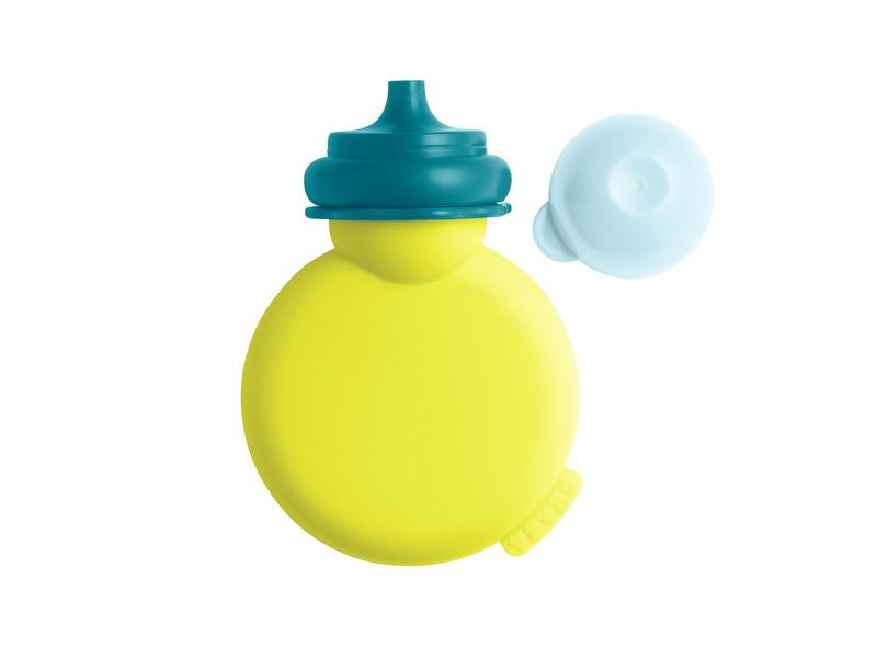 Lahvička Babypote neon/modrá 1