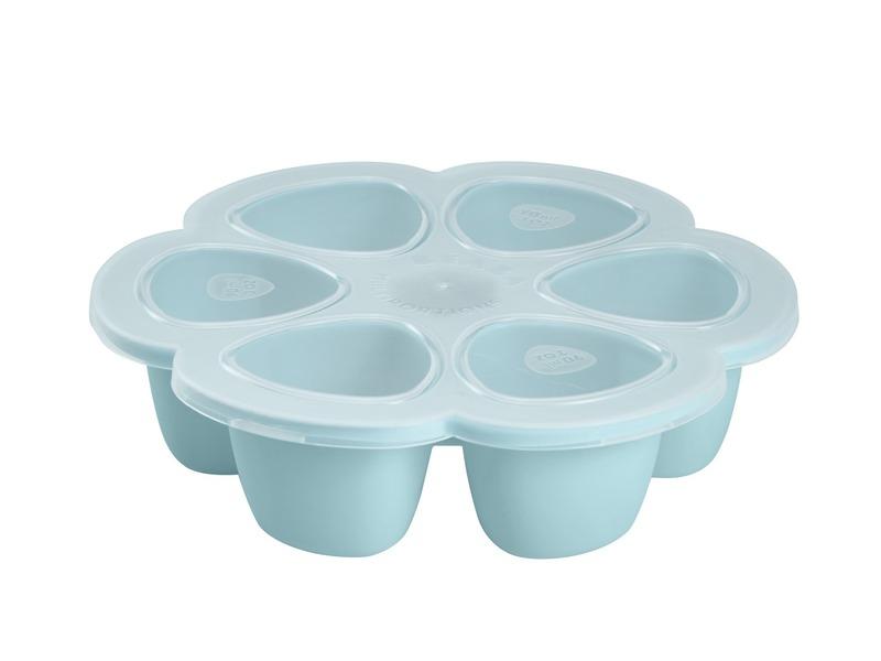Multi-dávkovač na jídlo 6x90ml modrý 1