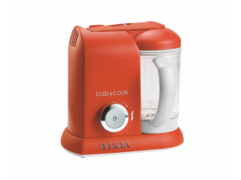Beaba Parní vařič + mixér BABYCOOK SOLO paprika