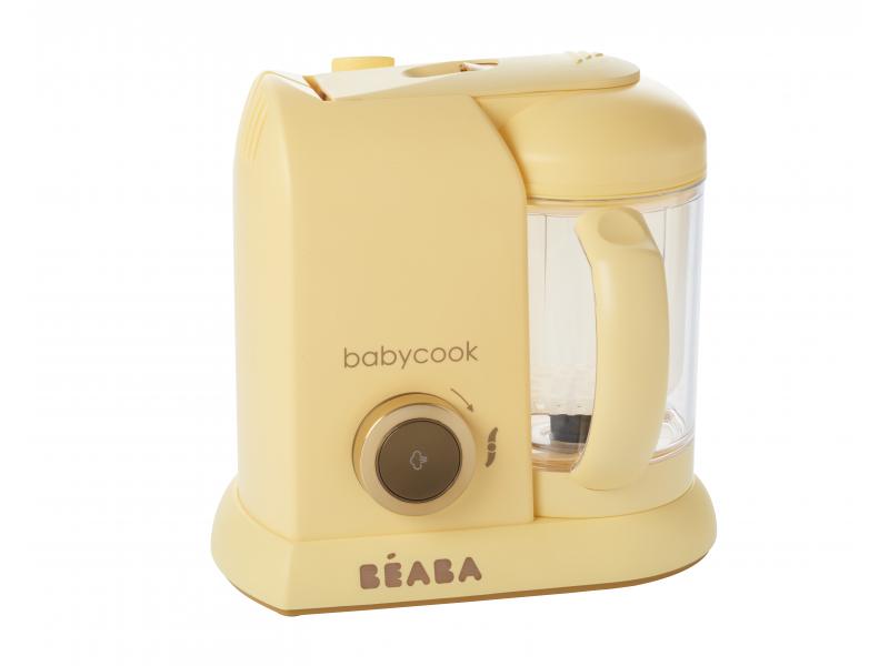 Beaba PARNÍ VAŘIČ + MIXÉR BABYCOOK Vanilla Cream