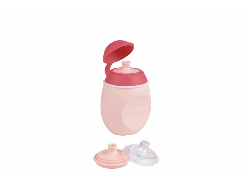 Lahvička BabySqueez 2v1 Pink 1