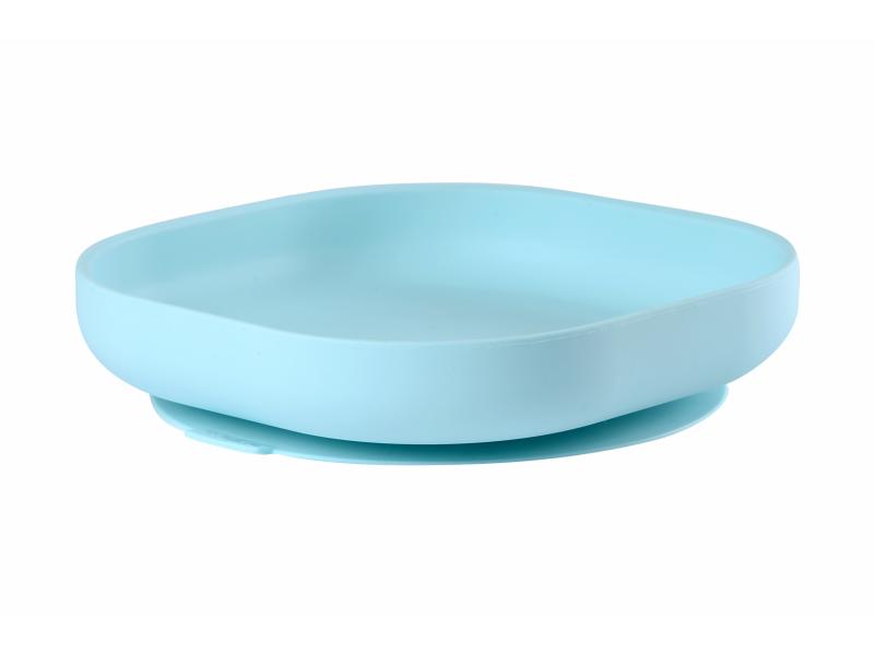 Talíř silikonový s přísavkou Blue 1