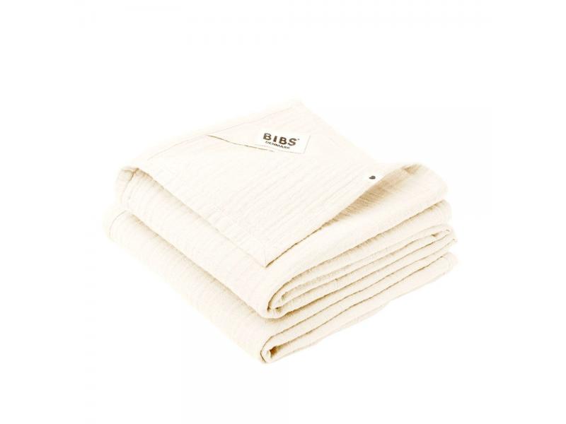 Mušelínové plenky z BIO bavlny 2ks, Ivory 1