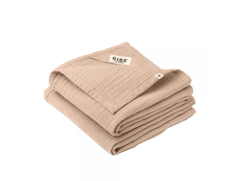 Mušelínové plenky z BIO bavlny 2ks, Blush 1