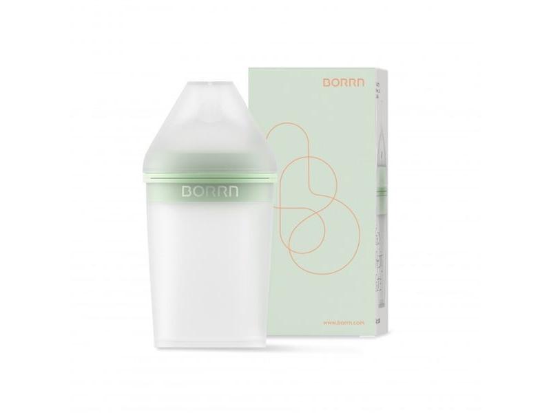 Silikonová lahvička zelená, 240 ml 1