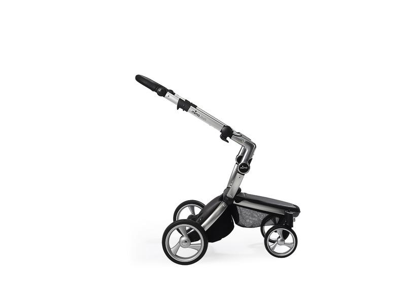 Xari kočárek 3G - podvozek stříbrný 1