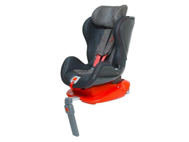 Autosedačka ISOFIX GLIDER (9-18) CARBON RACE RED 1
